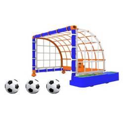 Arco de fútbol móvil