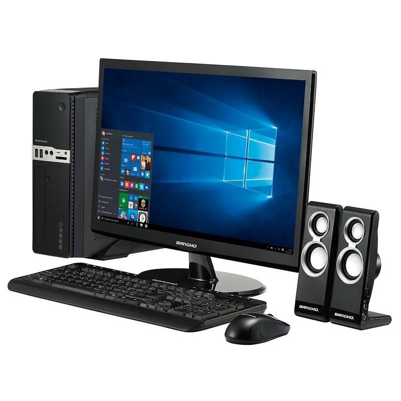 Bangho - PC con MONITOR 21.5'' AMD RYZEN 3 4GB RAM DISCO SOLIDO 240GB