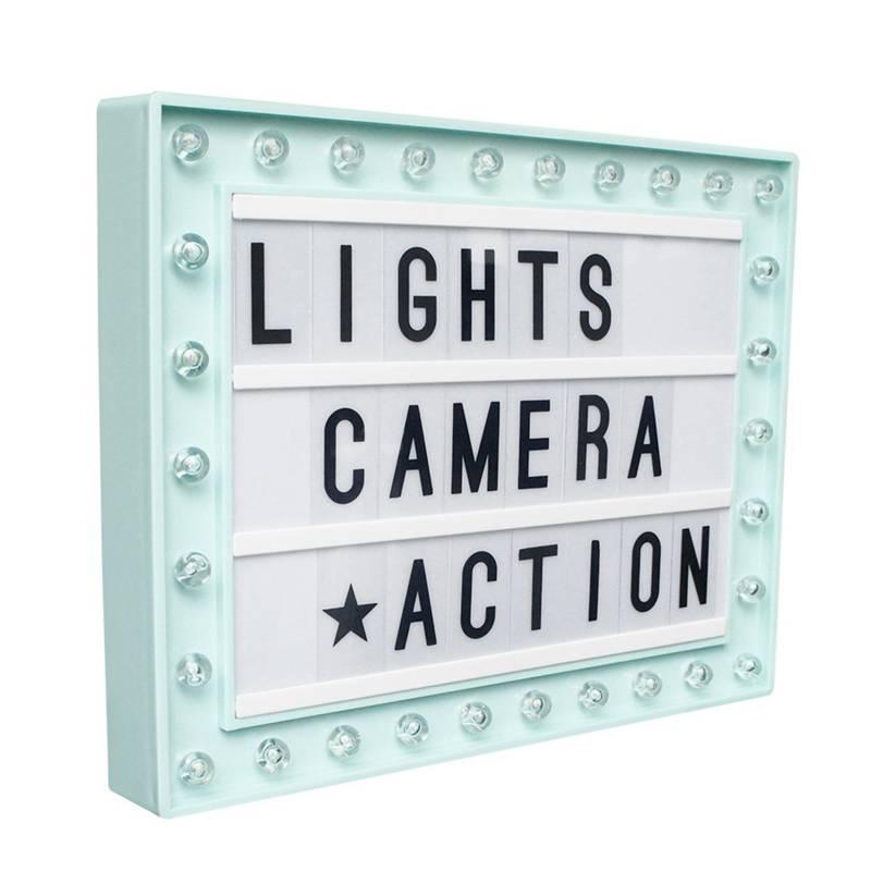 Cuadro Hollywood LED 30x39 cm