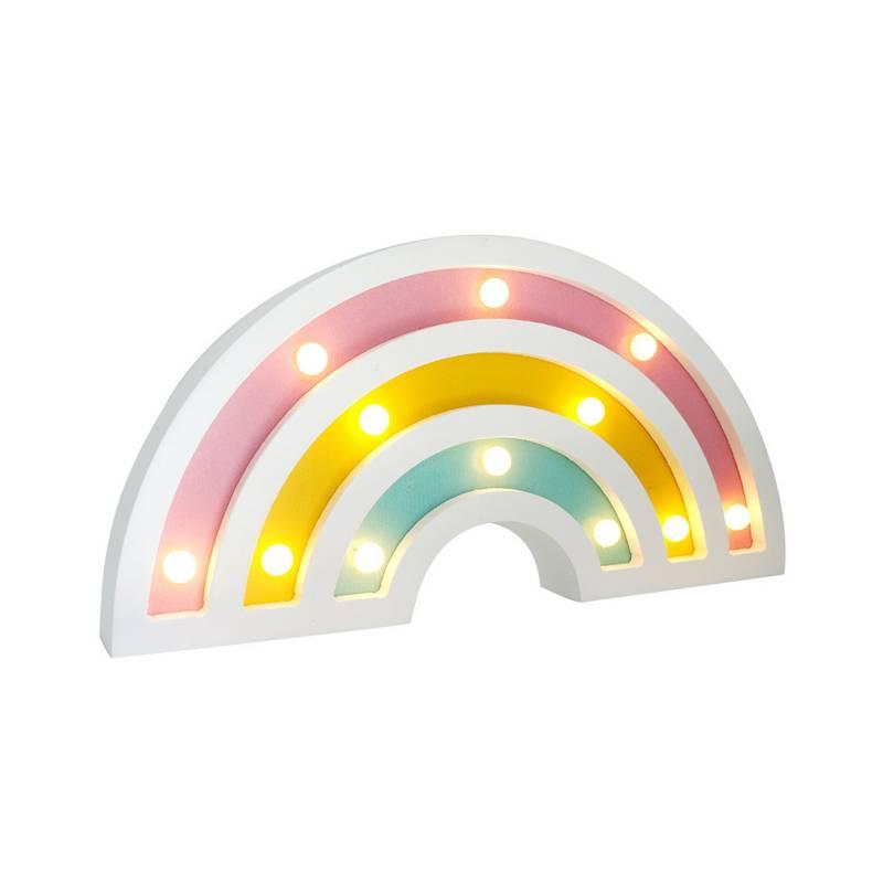 Cuadro Rainbow LED 25x12.5 cm