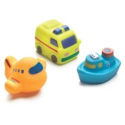 Set juguetes para el baño