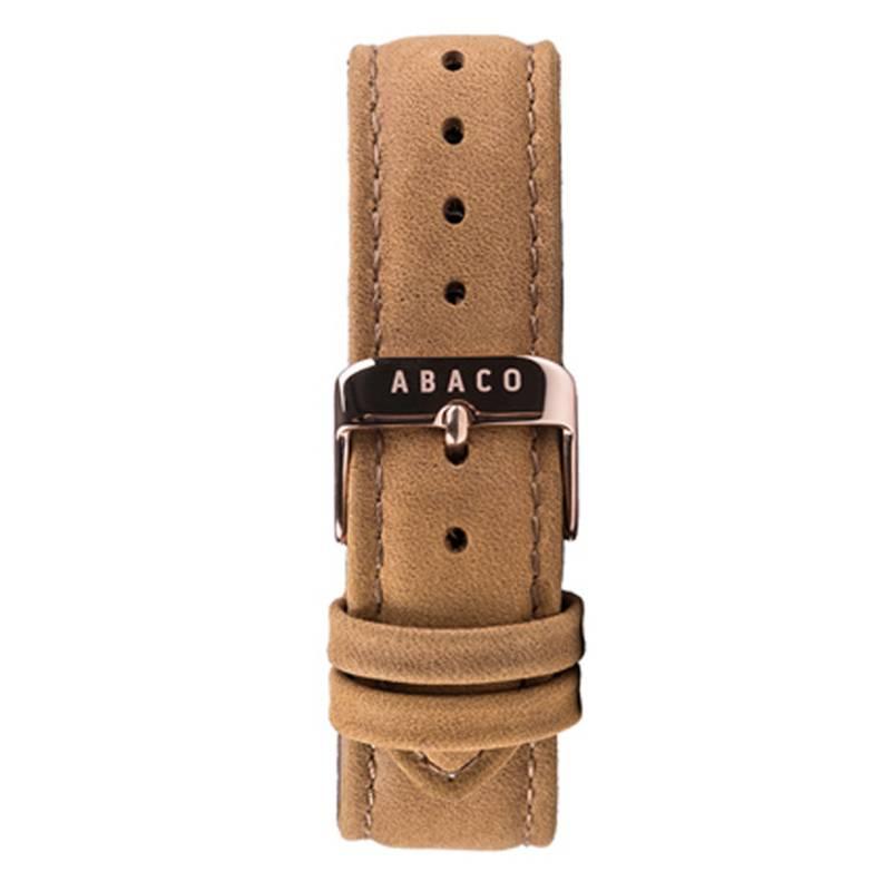 Abaco - Malla de reloj Leather
