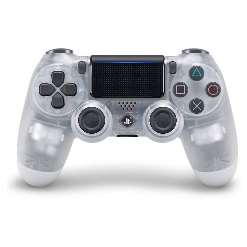 Sony - Joystick Dualshock PS4 Crystal