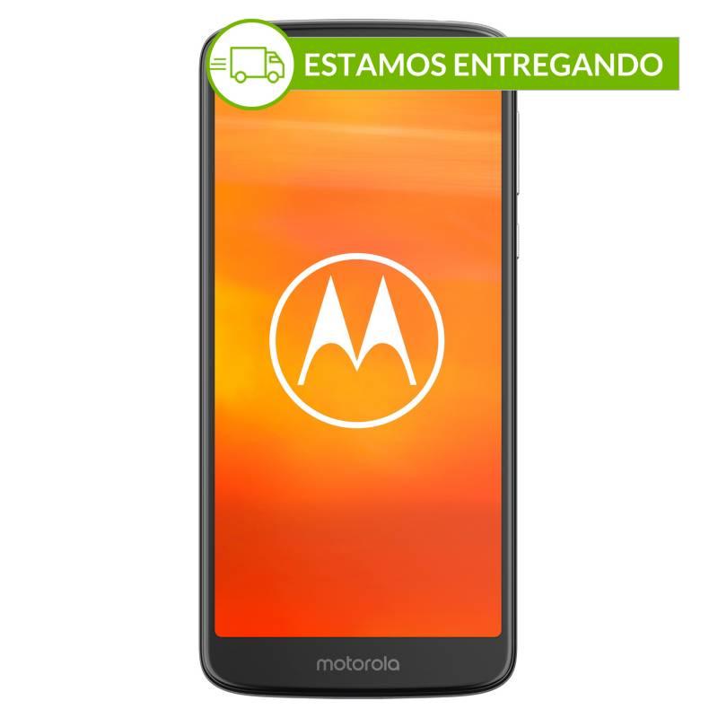 Motorola - Celular libre E5 gris 16GB 2GB RAM