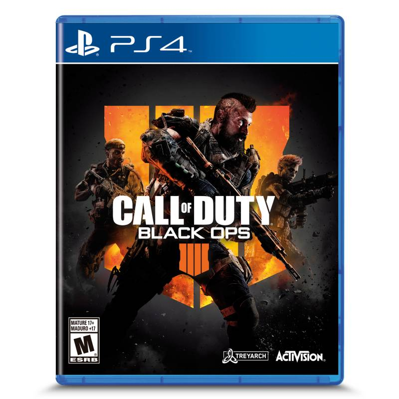 Sony - Videojuego Call of Duty Black Ops 4 PS4