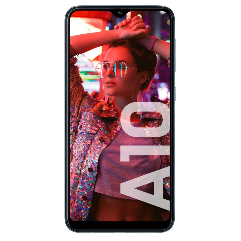 Samsung - Celular libre A10  negro 32GB 2GB RAM