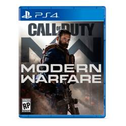 Video juego Call of duty Modern Warfare PS4