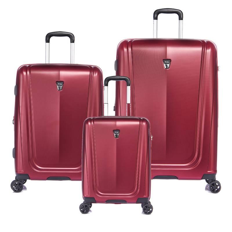 menú estanque acortar  Verage Set de valijas rígidas Shield 4 ruedas - Falabella.com