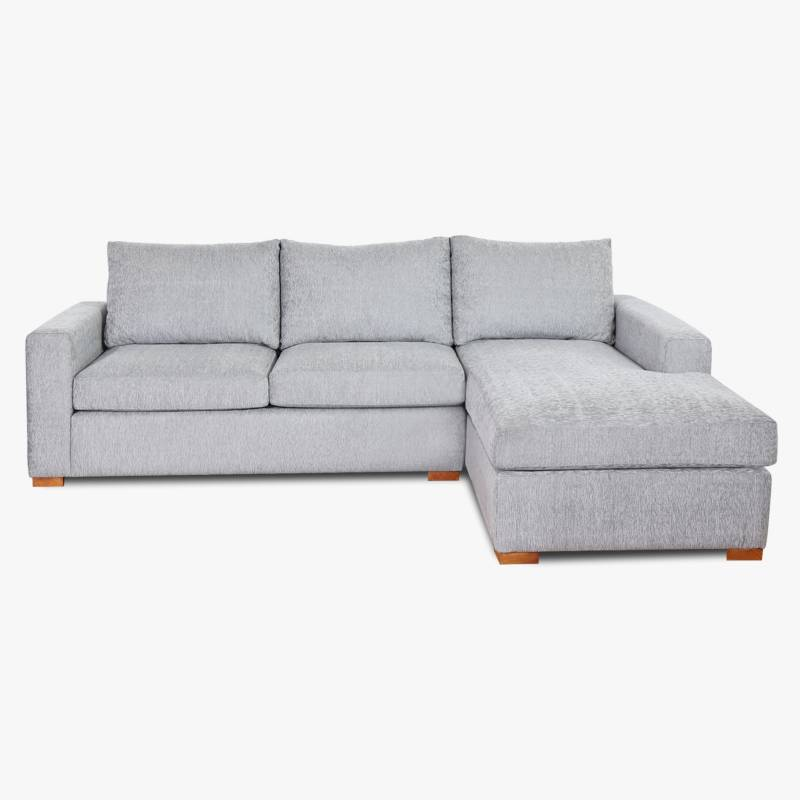 Full Confort - Sillón esquinero Cubick chenille 3 cuerpos