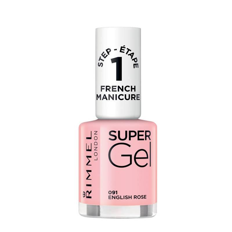 Rimmel - Supergel French manicure english
