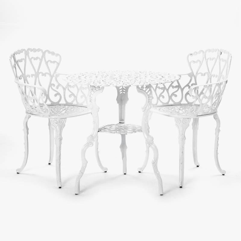 La Font - Juego de jardín Monaco 2 sillas