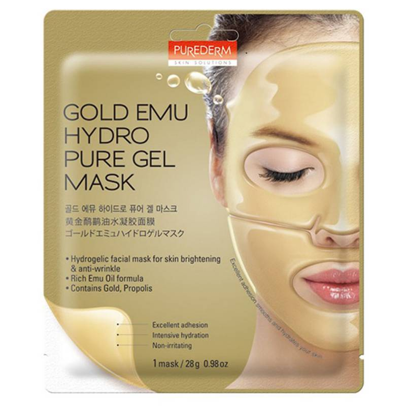 Purederm - Gold Hydrogel Mask 28g