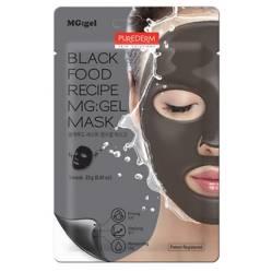 Black Food recipe MG gel mask