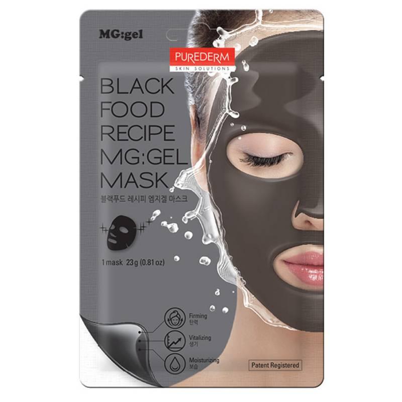 Purederm - Black Food recipe MG gel mask