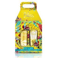 Cofre Fragrance Mist Yellow 125 ml + crema de cuerpo 120 ml