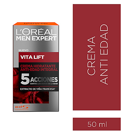 Men Expert Vita Lift 5 Soin Crema Hidratante 50 ml