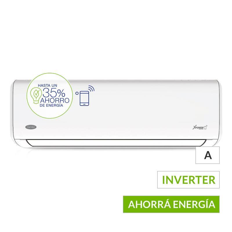 Carrier - Aire acondicionado split frío-calor inverter 5500 frigorías  53HVA2201F