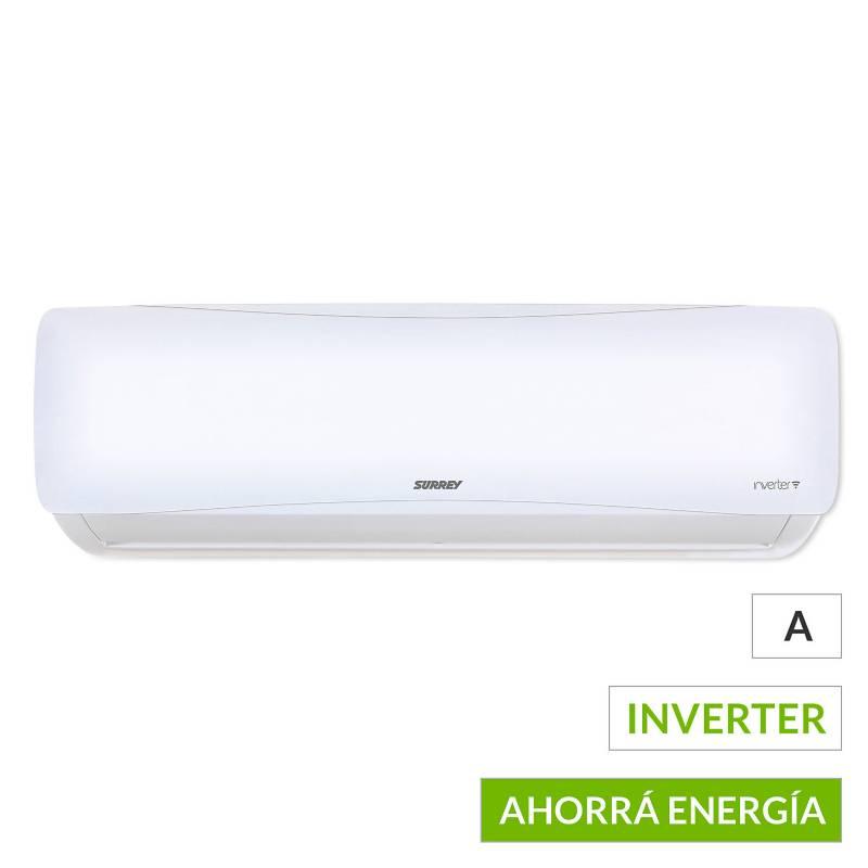 Surrey - Aire acondicionado split 553AIQ0901F frío-calor inverter 2200 frigorías
