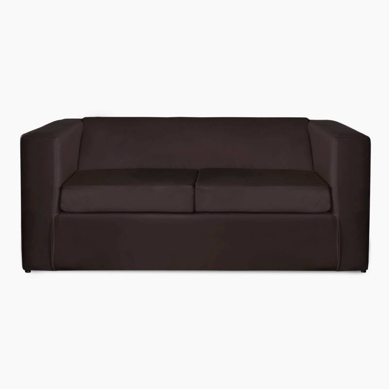 Mi Sofa - Sillón Cubo ecocuero 2 cuerpos