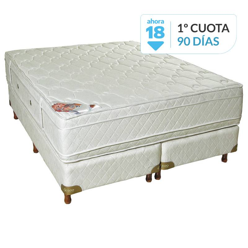 Deseo Confort - Sommier Diamante king 180x200 cm