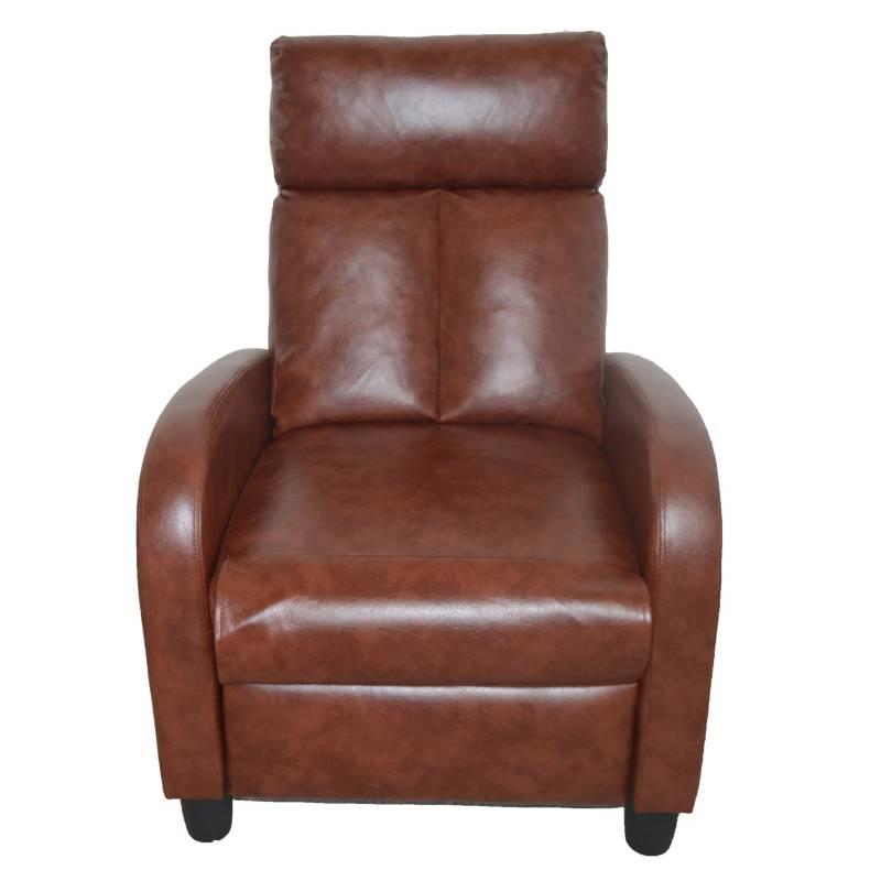 Midtown - Sillón reclinable Aika ecocuero 1 cuerpo