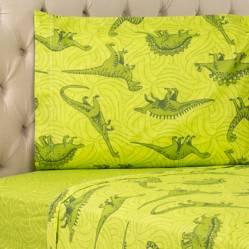 Juego de sábanas Dinosaurio 132 hilos