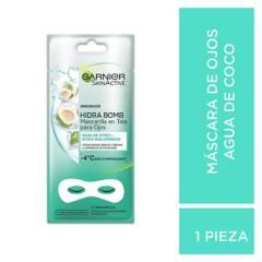 Garnier - Mascarilla en Tela para Ojos Skin Active Coco x 1 u
