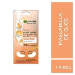 Garnier - Mascarilla en Tela para Ojos Skin Active Naranja x 1 u