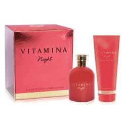 Vitamina - Cofre Night EDT 50 ml + body lotion 100 g