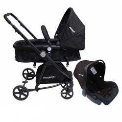 Coche travel and system 3 en 1 25kg