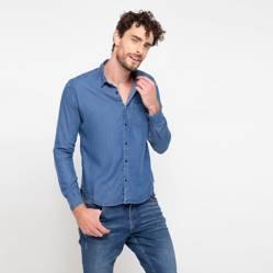 Basement - Camisa lyocell lisa