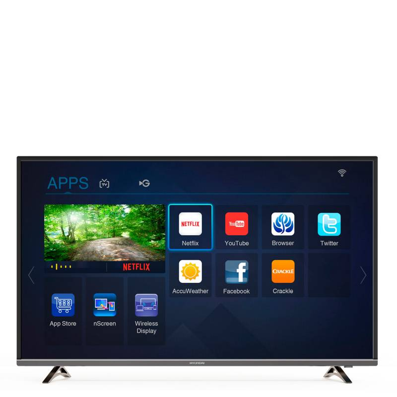 "Hyundai - Smart TV 4K 55"" LED HYLED-55UHD2"