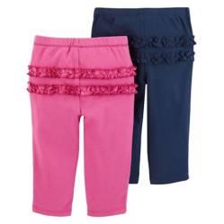 Carter´s - Pack por 2 pantalones con voladitos 0 a 24 meses