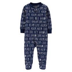 Osito pijama con cierre Little guy 3 a 9 meses