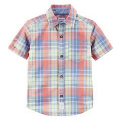 Carter´s - Camisa escocesa 12 a 24 meses