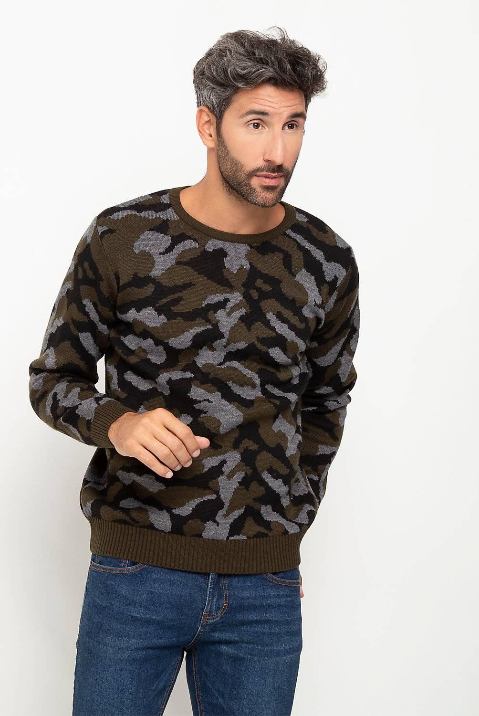 Basement - Sweater Camuflado