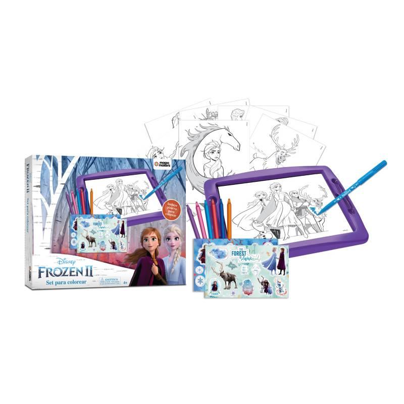 Frozen Set Para Colorear Frozen Ii Falabella Com
