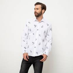 Basement - Camisa microprint