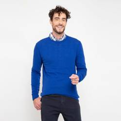 Sweater básico cuello redondo Frank