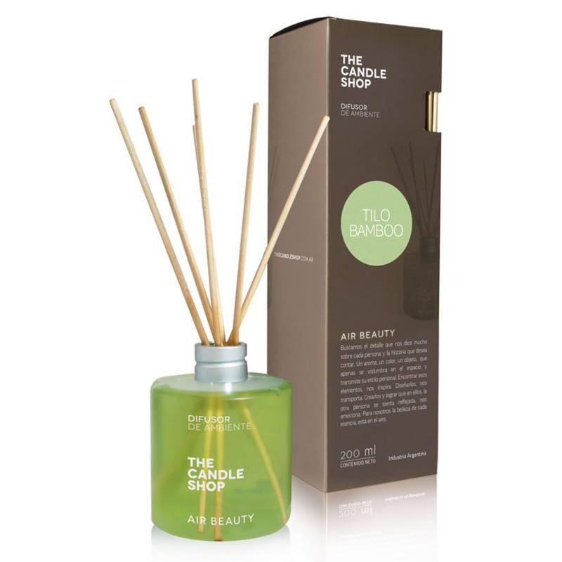 The Candle Shop - Aromatizador tilo bambú 200 ml