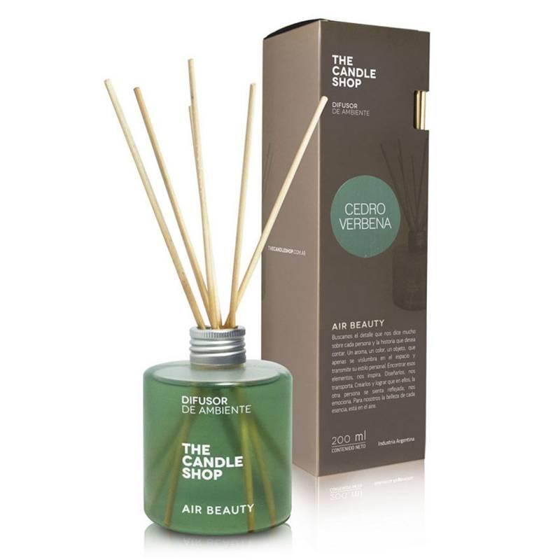 The Candle Shop - Aromatizador cedro verbena 200 ml