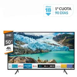 "Samsung - Smart TV 50"" 4K UHD UN50RU7100G"