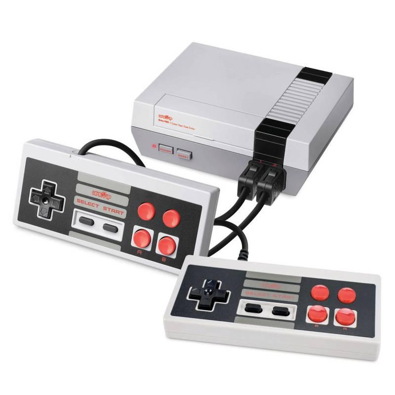 Level Up - Consola Retro Nes AV 500 Juegos 2 Jugadores