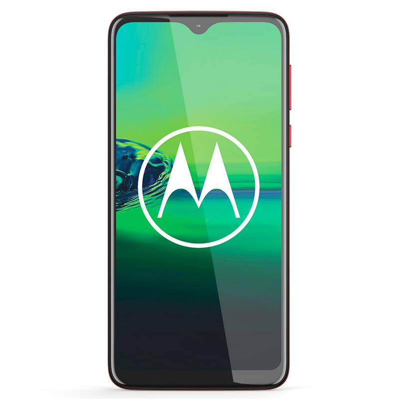 Motorola - Celular libre G8 plus rosa 64GB 4GB RAM