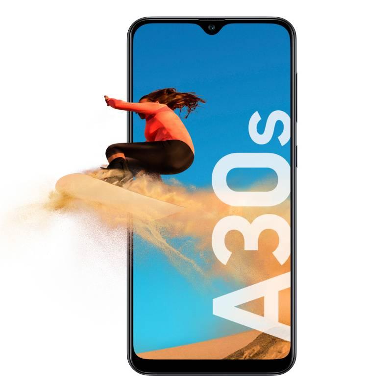 Samsung - Celular libre A30S negro 32GB 3GB RAM