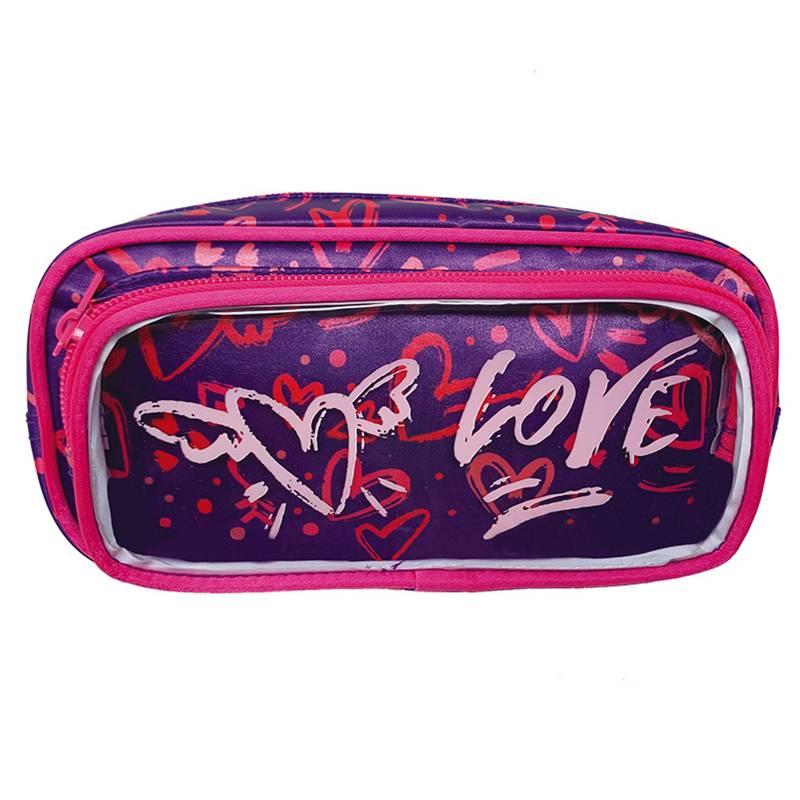Fala - Cartuchera con bolsillo Love