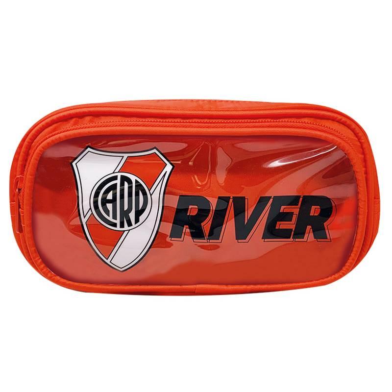 River - Cartuchera  con bolsillo