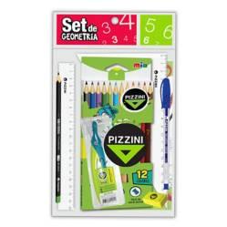 Pizzini - Set de geometría