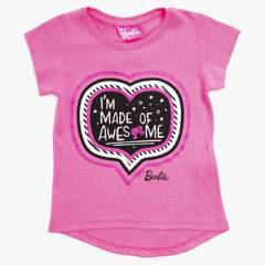 Barbie - Remera estampada 2 a 10