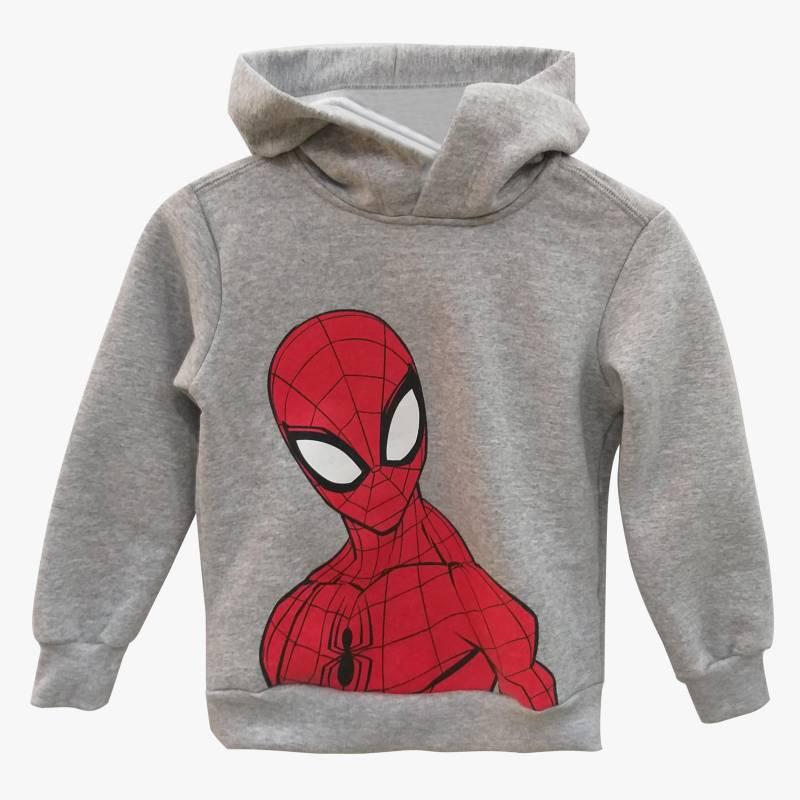 Spider-man - Buzo con capucha superhéroes 2 a 8
